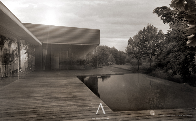 496 LELLOhouse. BAKALARCZYK GRUPA PROJEKTOWA - Architekt Poznań. Widok 1.