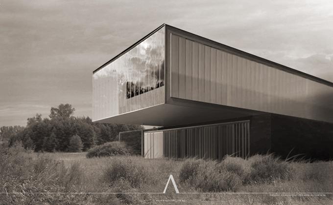 493 Hagen.de. BAKALARCZYK GRUPA PROJEKTOWA - Architekt Poznań. Widok 1.