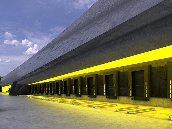 566 Hala doków w Berlinie