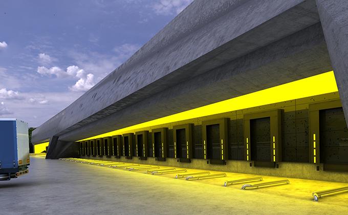 566 Hala doków w Berlinie. BAKALARCZYK GRUPA PROJEKTOWA - Architekt Poznań. Widok 1.