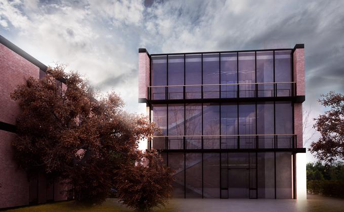 602 Klinika medycyny estetycznej w Poznaniu. BAKALARCZYK GRUPA PROJEKTOWA - Architekt Poznań. Widok 2.