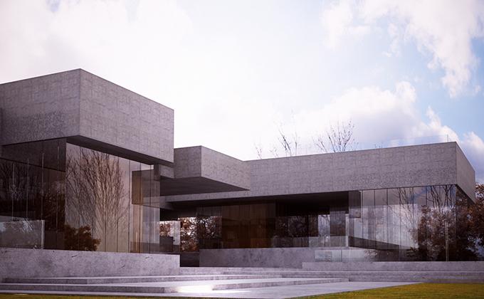 560 Rozbudowa kampusu w Cottbus. BAKALARCZYK GRUPA PROJEKTOWA - Architekt Poznań. Widok 2.